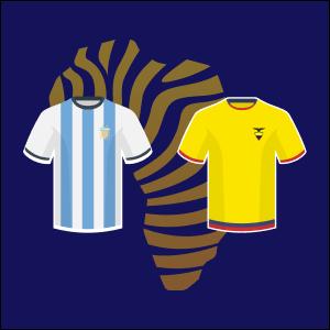 Prono football quart de finale copa america 2021 Argentine vs Equateur